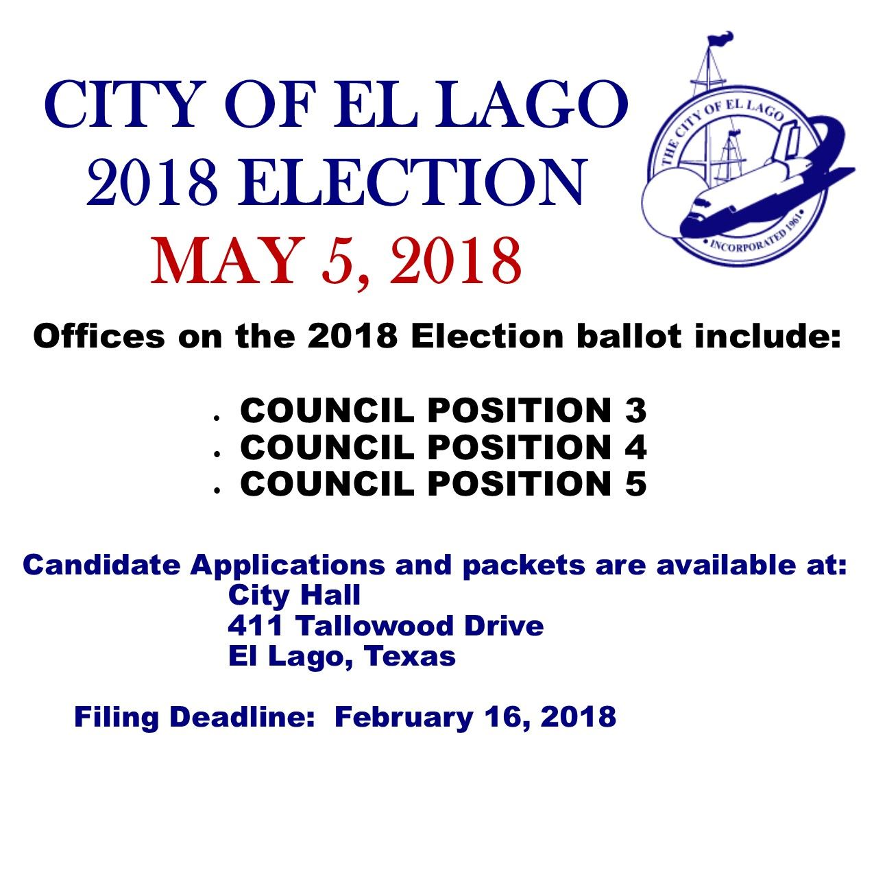 2018 Election Newsflash flyer